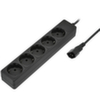 Сетевой фильтр 0,5м, 5 розеток, Sven Special Base, (для UPS), черный
