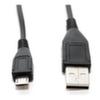 Кабель USB 2.0 - MicroUSB, 0.5m, 5bites UC5002-005