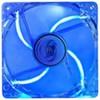 Вентилятор 120 mm DEEPCOOL Xfan120U B/B 120x120x25мм (64шт./кор, пит. от мат.платы и БП, синий пласт