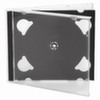Коробка  для 2-х CD/DVD прозрачная