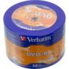 Диск DVD-R Verbatim 4.7Gb 16x Cake Box
