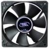 Вентилятор 120mm DEEPCOOL Xfan120 120x120x25мм, пит. от мат.платы и БП, черный, 1300об/мин, Retail